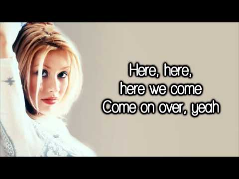 Christina Aguilera - All I Want Is You (Come On Over)