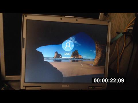 Dell Latitube D610 , Windows 10