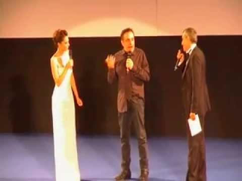 TaorminaFilmFest 2013, Nino Frassica riceve il premio Premio Cariddi