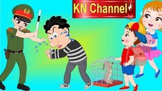 TÊN TRỘM CHÓ ĂN CẮP ĐIỆN THOẠI BỊ CÔNG AN BẮT | HOẠT HÌNH KN Channel