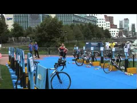 Dutch Triathlon | ETU Triathlon European Junior Cup Dusseldorf 2011 - female