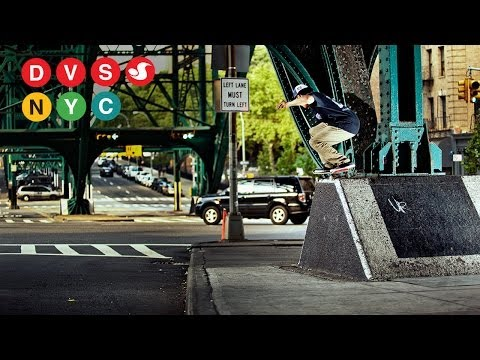 The Skateboard Mag Presents DVS NYC