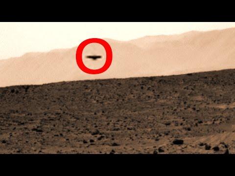 UFO Sightings Huge Flying Saucer Over Mars & Martian Humanoid Watch Now!