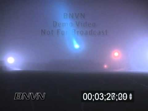 12/27/2005 Various aviation fog video. Airport in fog video