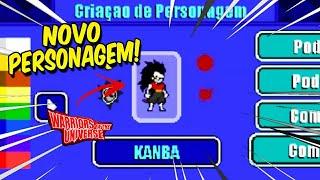 INCRÍVEL! COMO FAZER O KANBA DE DRAGON BALL HEROES NO WARRIORS OF THE UNIVERSE!!!
