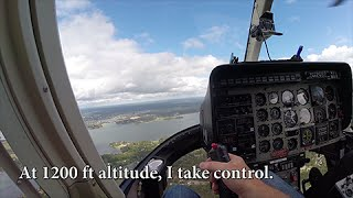Flying a Real Helicopter