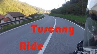 TUSCANY RIDE in the mountains