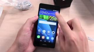 Huawei P8 Lite Распаковка - Комплектация - Первые Впечатления