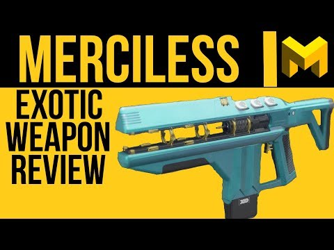 The Highest DPS Weapon In Destiny 2: Merciless Exotic Review