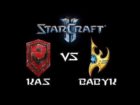 StarCraft 2 - Kas [T] vs BabyK [P] (Commentary)