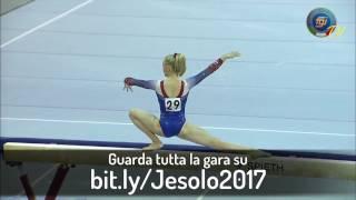 bit.ly/Jesolo2017 - RILEY MC CUSKER (Trave) - Finali di Specialità
