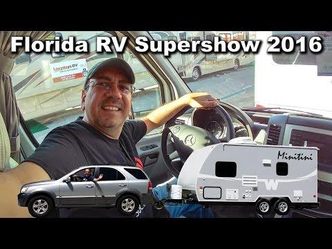Florida RV Supershow 2016 - Class B and B+. Comfort vs. Flexibility | Traveling Robert