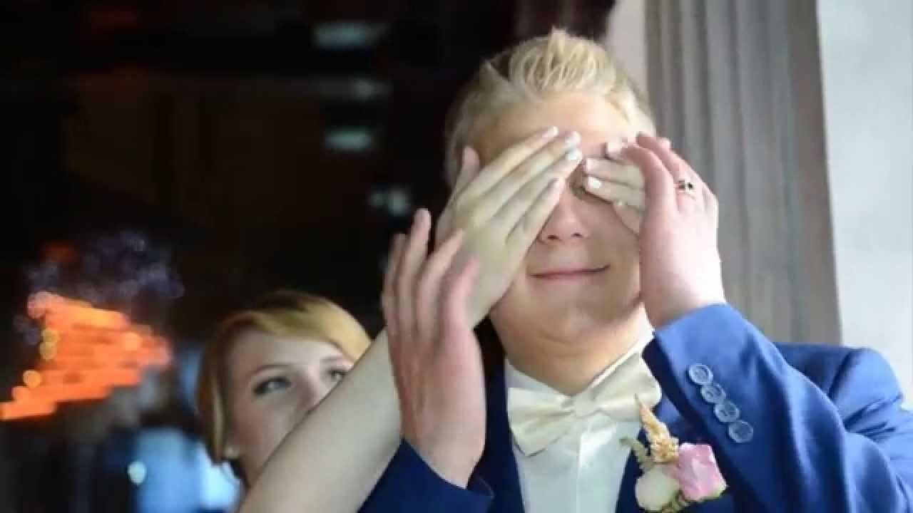Трогательный видеоролик в подарок на свадьбу 13