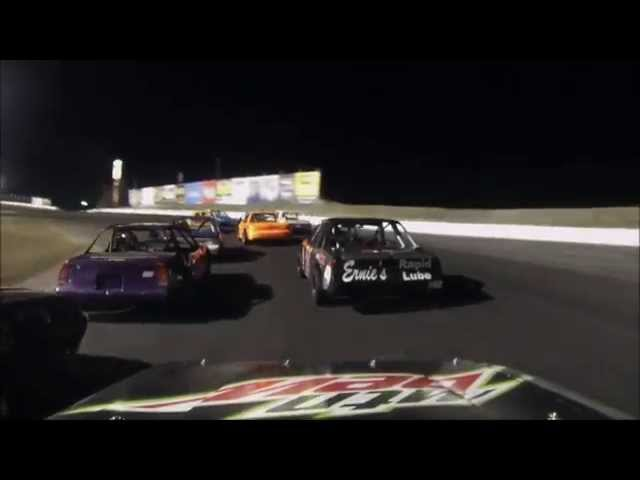South Sound Speedway Mini Stock Main Win 9/13/14