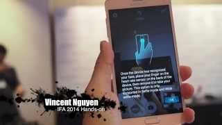 Samsung Galaxy Note 4 hands-on: Wildly wireless wearable - IFA 2014