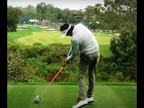 Bubba Watson 363-Yard Fade (1-2011) with Slow Motion at the end.