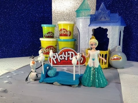 Play-Doh Disney Frozen How to Make Queen Elsa Disney Frozen Bed