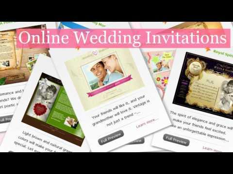 Online Wedding Invitations - ImpressionLink video