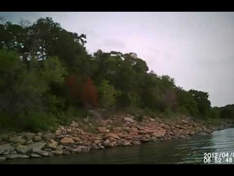 LAKE TEXOMA, FISHING THE ALABAMA RIG