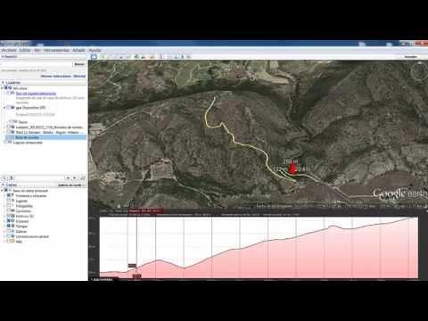 Cómo crear ruta a mano en Google Earth y exportarla a GPS o Wikiloc