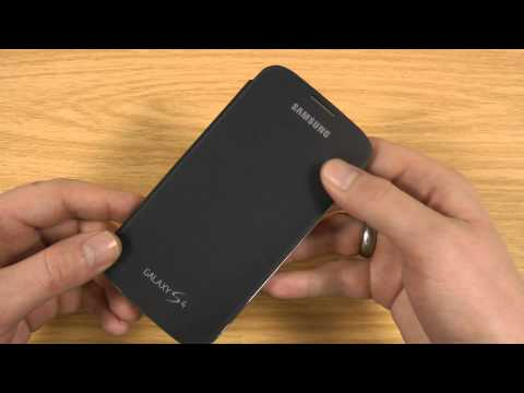 Official Samsung Galaxy S4 Flip Cover Review Case