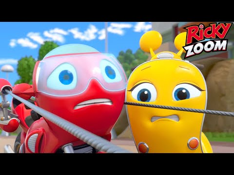 Ricky Zoom Full Episode 😊 Meet Ricky in Flat-Out Awesome!  | Cartoons for Kids | Nick Jr.