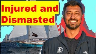 Tomy's Sailboat is Dismasted in Golden Globe Race | Rescue