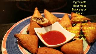 Graving for Samosa but no time to make your own wraps, watch this