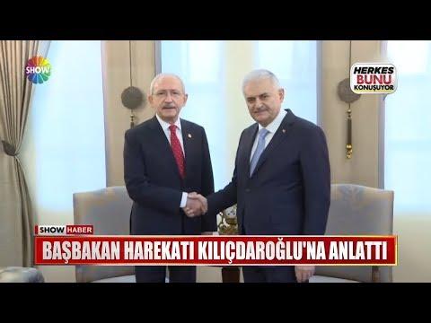 Başbakan harekatı Kılıçdaroğlu'na anlattı