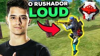 LOUD CORINGA: O RUSHADOR MAIS HABILIDOSO DO FREE FIRE! (DUO CRUSHER FOOXI)