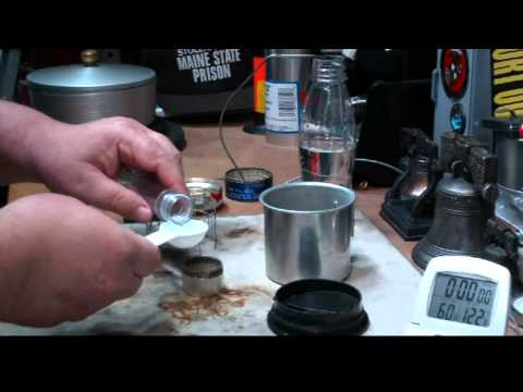 DIY Hot beverage cook set  Boil Test #2 - Reloaded