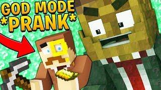 GOD MODE *PRANK* DELTA LUCKY BLOCK WALLS CHALLENGE! Minecraft - Lucky Block Mod