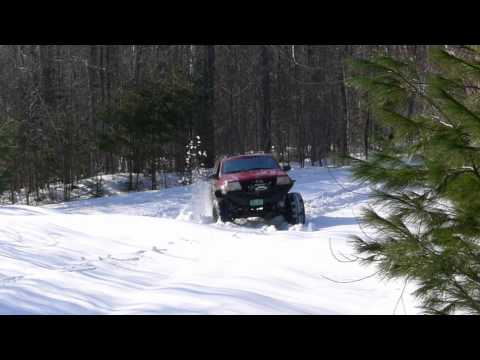 Snow Bogging VT