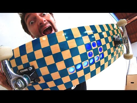CUSTOM BRAILLE LED SKATEBOARD! | YOU MAKE IT WE SKATE IT EP 115