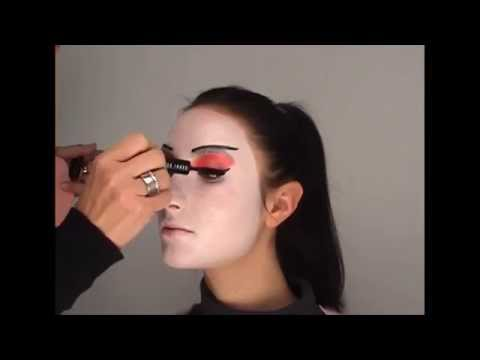 Geisha Look Schminkanleitung video