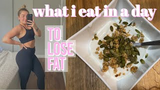 VEGETARIAN FULL DAY OF EATING // how i'm losing fat for summer // high protein no meat