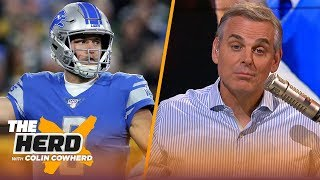 Lions' MNF loss to Packers was due to Stafford's shortcomings — not officiating | NFL | THE HERD