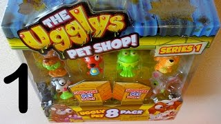 Part 1: The Ugglys Pets Shop 8 Pack Surprise 101 Pets to Collect Juguetes Sorpresa