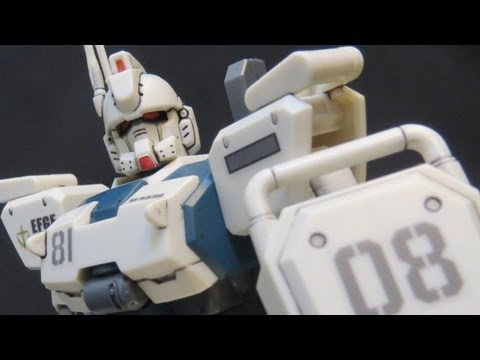 HGUC Ez8 (2: Parts) Gundam 08th MS Team Shiro Amada plastic model review ガンプラ