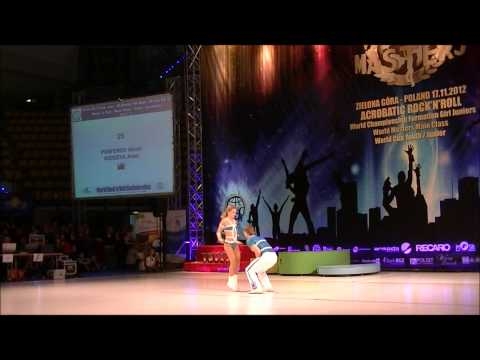 Anna Avdeeva & Alexei Panferov - World Masters Zielona Gora 2012