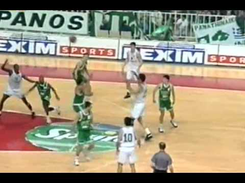 Dominique Wilkins in Panathinaikos (highlights)