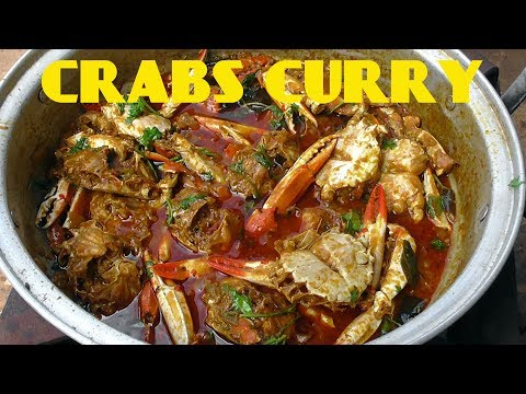 CRABS CURRY RECIPE/peethala eguru/how to make crabs tomato curry