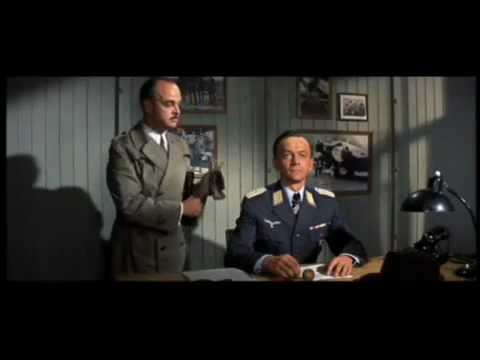 """The Great Escape"" - Meeting Bartlett - Hannes Messemer, Richard Attenborough"