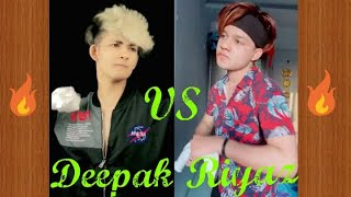 Deepak Joshi Vs Riyaz Ali New 🔥 Tik Tok Competition 2.0  |  Who is Best ??