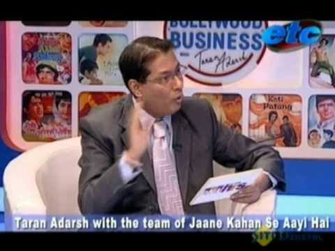 Taran Adarsh with the team of  'Jaane Kahan Se aayi Hai' Part - 1