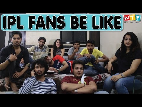 IPL FANS BE LIKE | WTF | WHAT THE FUKREY thumbnail