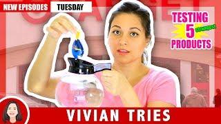 5 WEIRDEST TARGET STORE ITEMS!!! | VIVIAN TRIES
