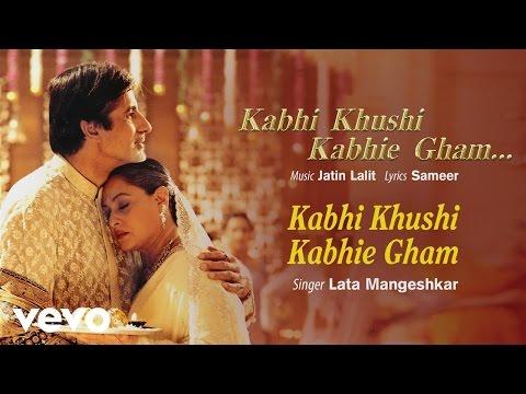 Kabhi Khushi Kabhie Gham - Official Audio Song | Lata Mangeshkar | Jatin Lalit | Sameer
