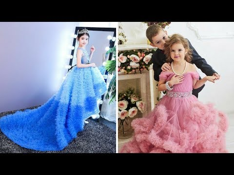 latest baby gown dress designs || Party Wear Dresses For Kids !!! trending now