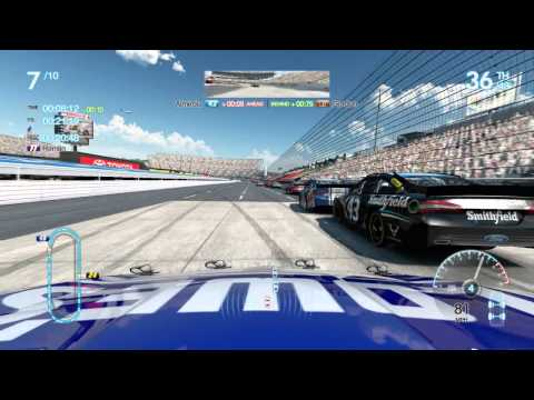 NASCAR The Game 2013: Jimmie Johnson Martinsville Gameplay